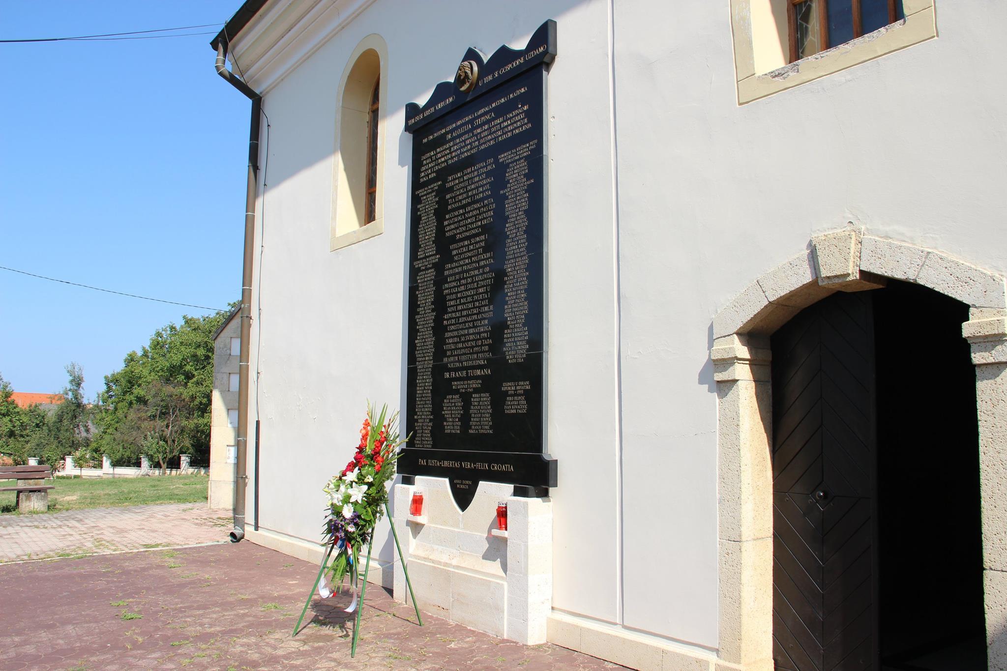 Polaganje vijenaca na Dan pobjede i domovinske zahvalnosti te Dan hrvatskih branitelja