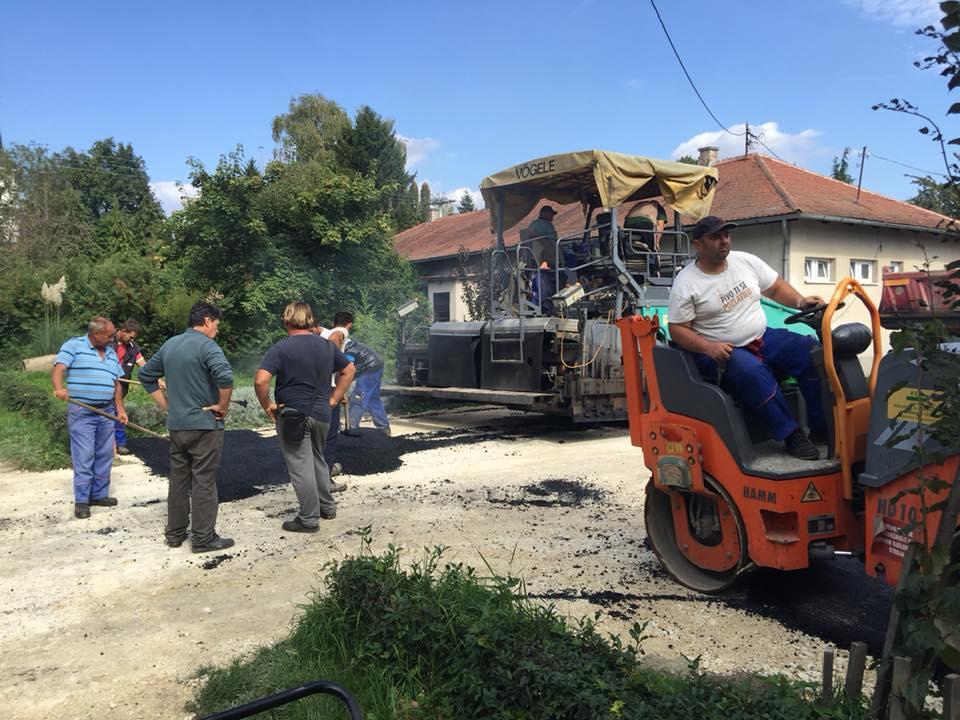 Završeni radovi na asfaltiranju i uređenju