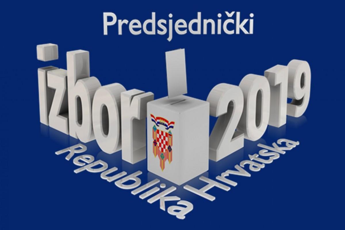 Obavijest - Izbori za predsjednika Republike Hrvatske