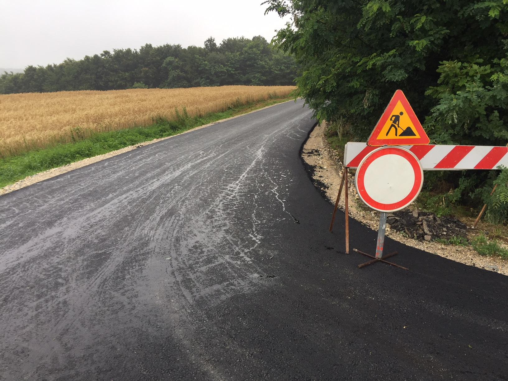 Modernizacija nerazvrstane ceste Trema Osuđevo - Gornje Selo